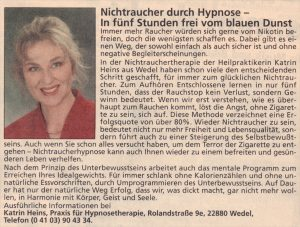 Beste Hypnose in Hamburg